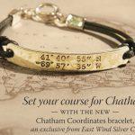CHATHAM COORDINATES ™ original stamped style bracelet-0