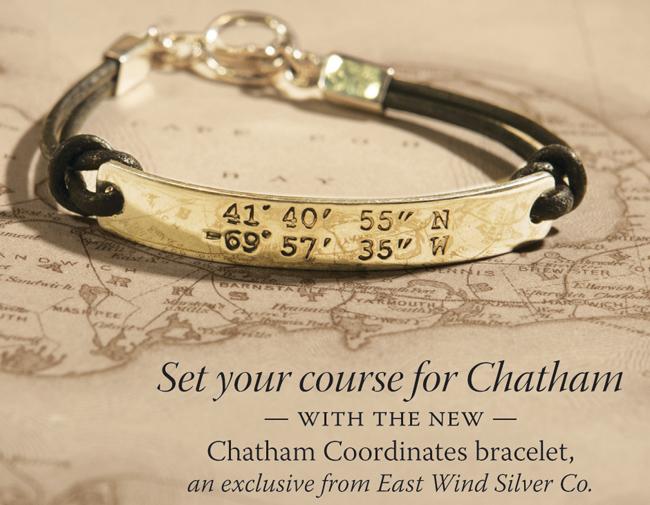 Chatham Coordinates Original Stamped Style Bracelet Eastwindsilver