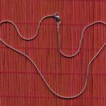 sterling silver round snake chain, lightweight-0