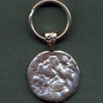 cast medallion keyring-0