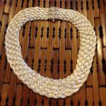 Turks Head Knot sterling silver choker necklace by Anatoli-0