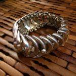 Half Moons sterling silver bracelet FINAL SALE no return or exchange