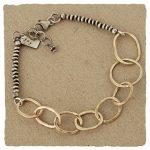 8-ring bracelet by j&i