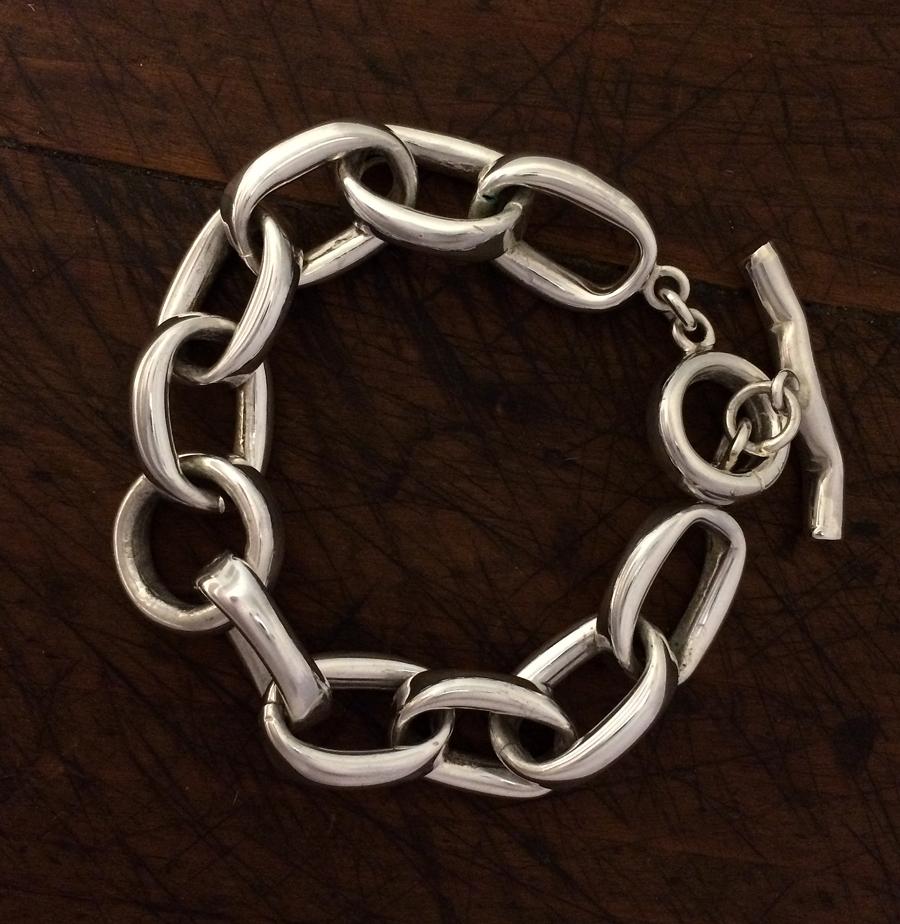 6b7e735a1864ec Chunky Links Toggle Bracelet – eastwindsilver.com