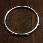 8 bead sterling bangle
