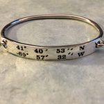 LANDMARK COORDINATES ™ bangle bracelet