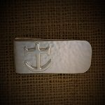 sterling silver anchor money-clip