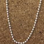 2mm sterling bead chain