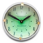 Orbit wall clock by Pendulux