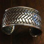 diamond back sterling bracelet