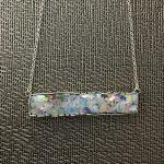 Ancient Roman Glass bar necklace