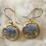 Forget me Not earrings by Catherine Weitzman-0