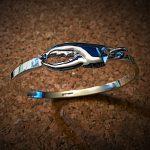 sterling lobster claw bracelet