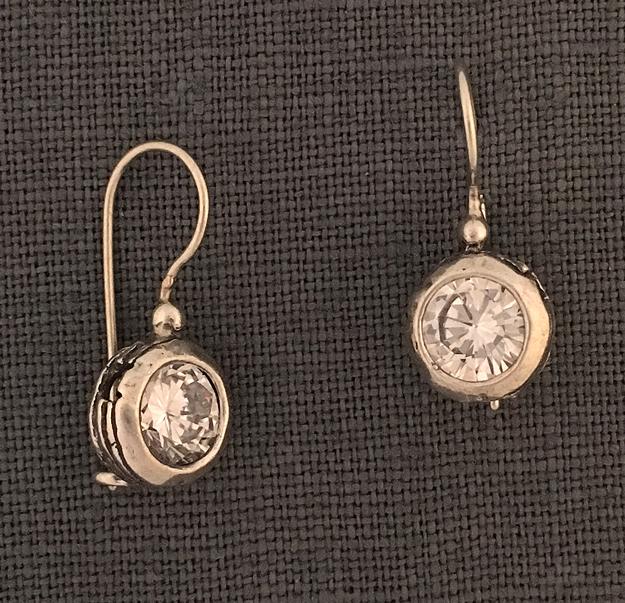 639bcc8f2 Zircons In Sterling Nest Drop Earrings by Noa Zuman – eastwindsilver.com