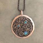 3 opal necklace by Tamir Zuman