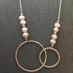 double circles & pearls by j&i