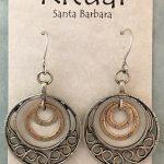 4 circles earrings by Ritual