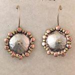 domed shield earrings by Ritual