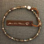 labradorite segments bracelet by Alicia Van Fleteren