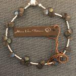 labradorite bracelet by Alicia Van Fleteren