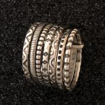 7-band stackable ring from Ritual