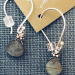 labradorite earrings by Alicia Van Fleteren