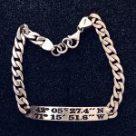 """On the 50"" sterling bracelet"
