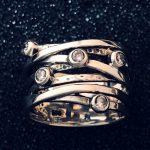 7 band ring by Ithil Metalworks