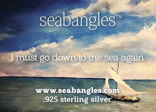 sailboat at sea seabangles card