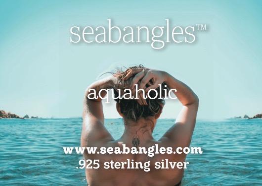 aquaholic, woman in aqua waters