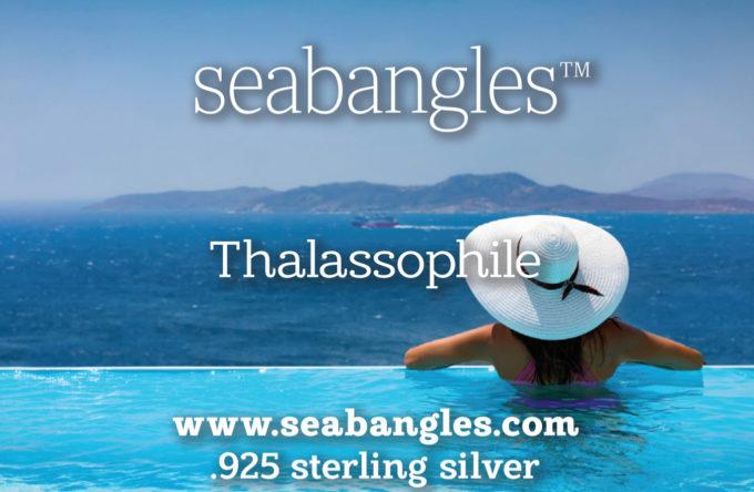 Thalassophile, woman in pool seabangles image